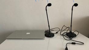 web会議を通訳するときに使っているマイクたち