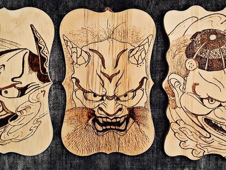 Armor Against Evil: Hannya, Oni & Tengu Masks