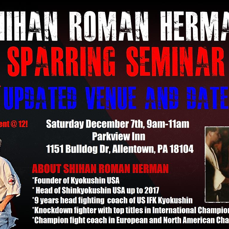 Shihan Roman Herman Sparring Seminar