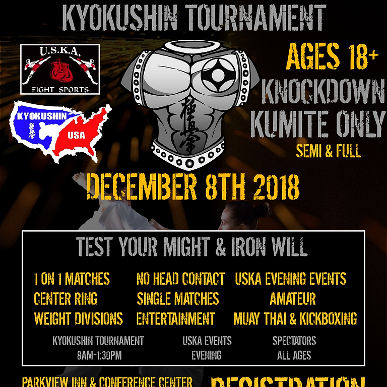 Iron Shirt Kyokushin Tournament