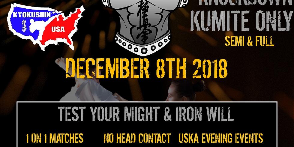 Iron Shirt Kyokushin Tournament