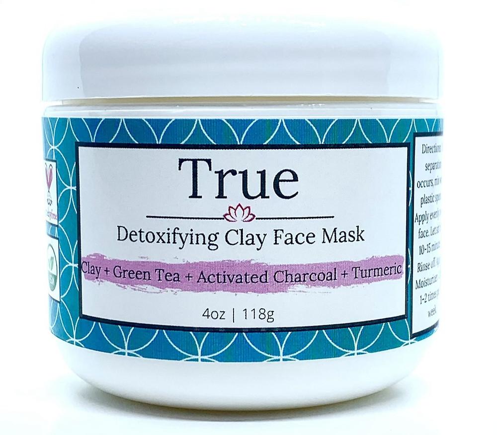 CBD Charcoal Bentonite Clay Face Mask