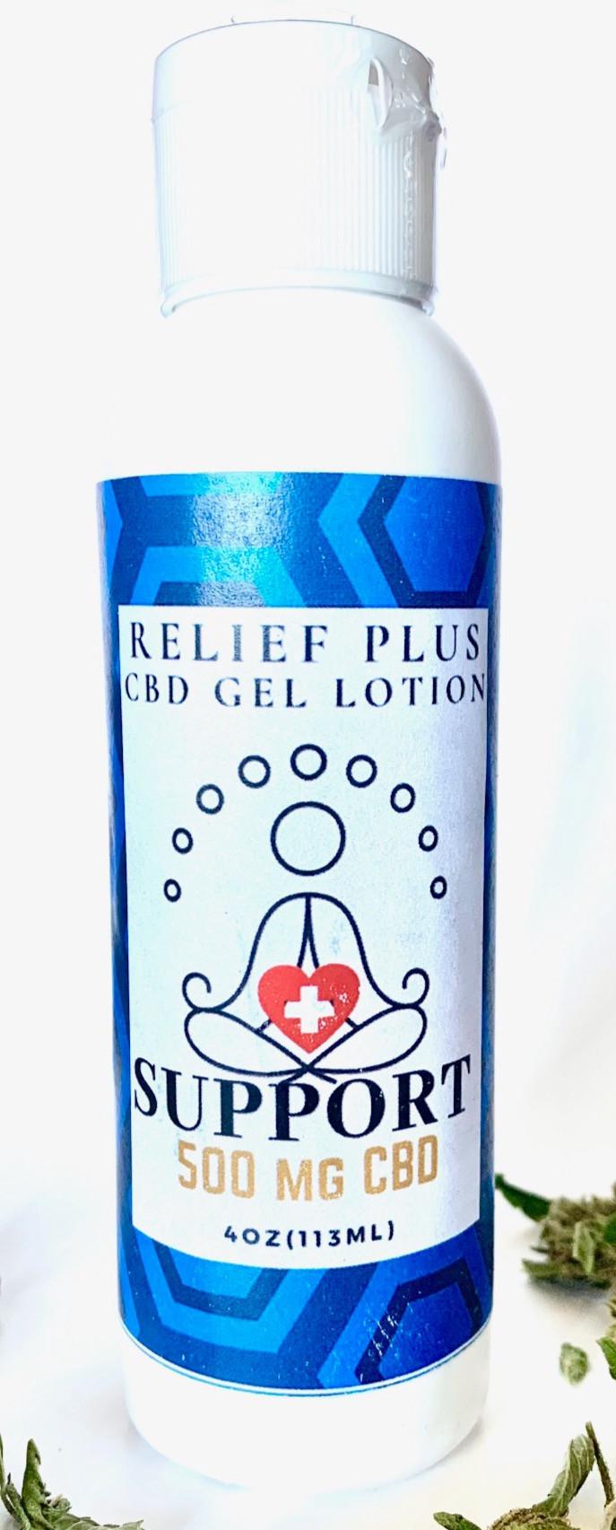 500 mg Pain Relief CBD Gel