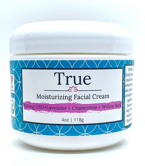 True Natural Wellness CBD Facial Cream