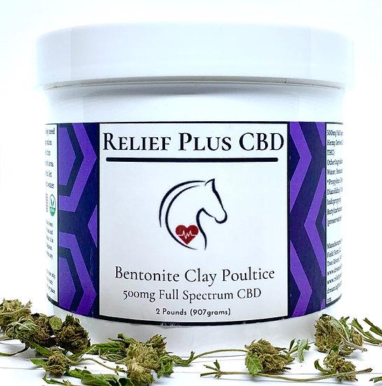 Relief Plus CBD Poultice | CBD For Horses