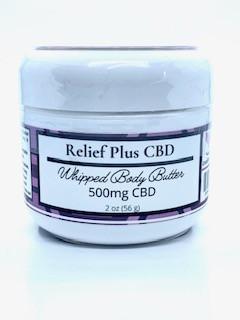 500 mg CBD Body Butter