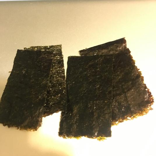 焙りたての焼き海苔