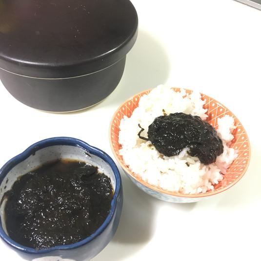 定番、海苔の佃煮。