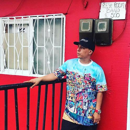Camiseta Estilo de Barrio
