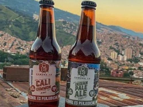 Cerveza Artesanal C13 Brewing Co X 3