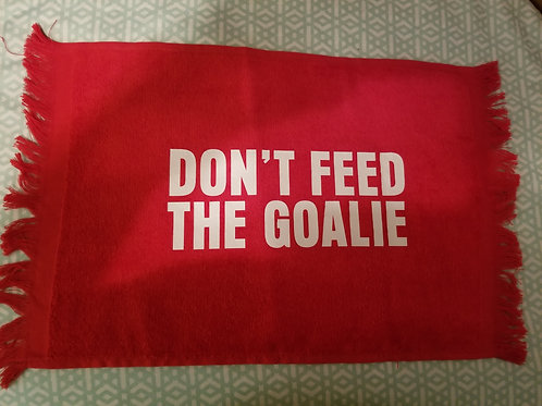 Don't Feed the Goal Sport Towel