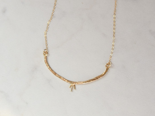 Sleeping Moon Necklace