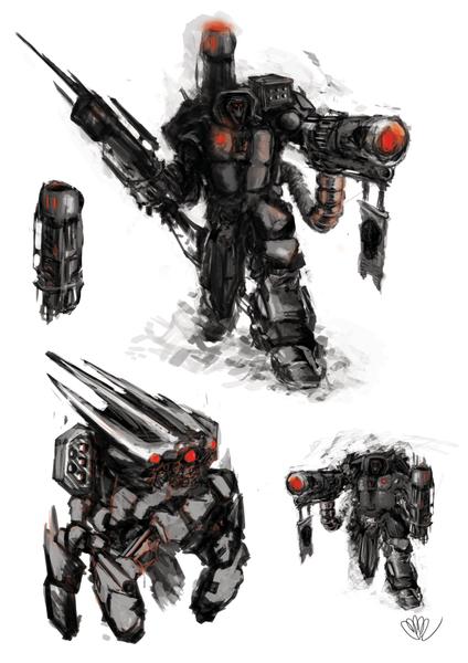 Robot sketching