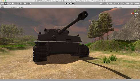 SCSH Tank T1