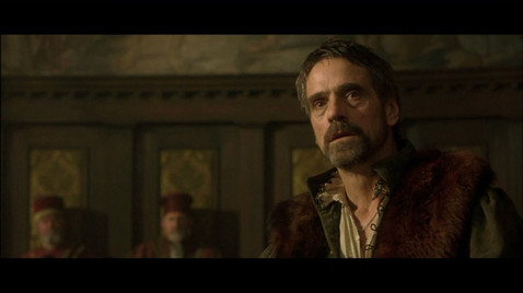 The Merchant of Venice - Jeremy Irons Hair, Make up
