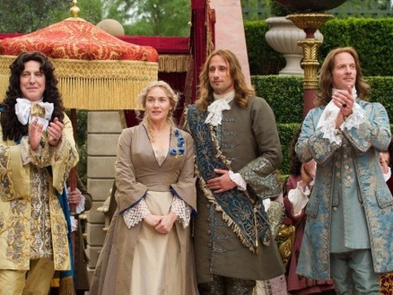 A Little Chaos - Rupert Penry-Jones Wig, Make up