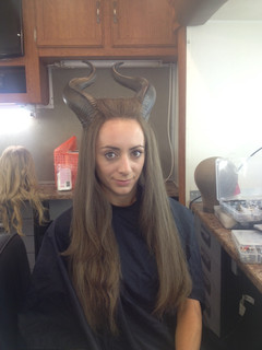 Malificent - Stunt Double Wig, horns