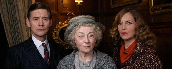 Miss Marple - Geraldine McEwen Wig, make up