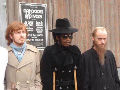 Sex Drugs & Rock n Roll - Mackenzie Crook Bald cap, Facial, wig, make up.