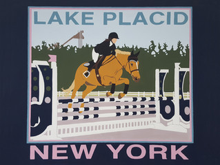 HORSE JUMPING LAKE PLACID