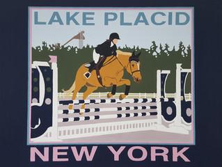 HORSE JUMPING LAKE PLACID