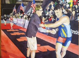 Midnight Finish - Ironman Lake Placid