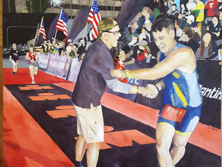 Midnight Finish - Ironman Lake Placid