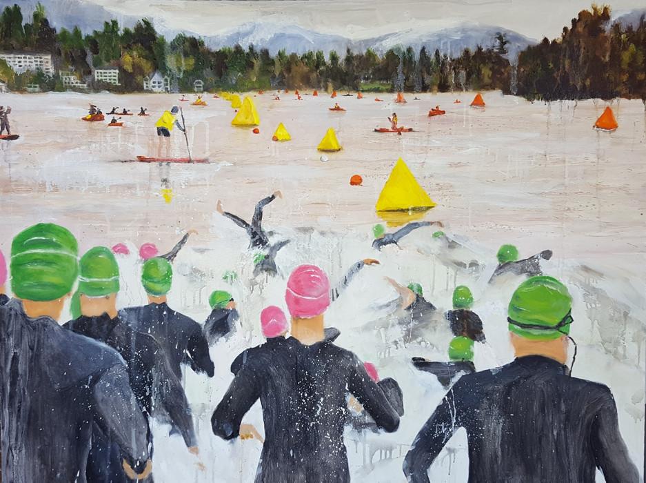 Mirror Lake Swim Start