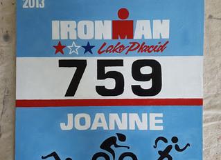 Personalized Triathlon Race Bibs