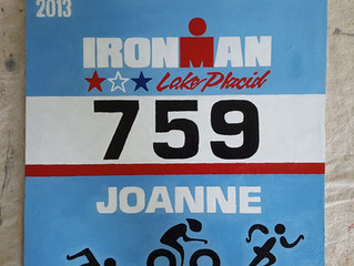 Personalized Triathlon Race Bibs