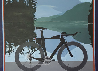 Ironman Lake Placid Bike Poster