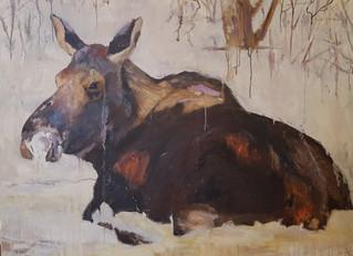 American Wildlife Oil Paintings