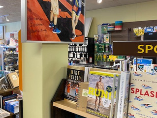 'Midnight Finish' in The Bookstore Plus, Lake Placid NY