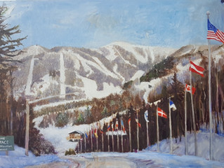 Whiteface Mountain oil paintings