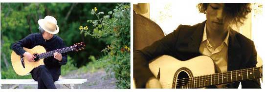 ゲストミュージシャンとして渡辺聖士デュオが、臼澤裕二ギターソロLIVEに、