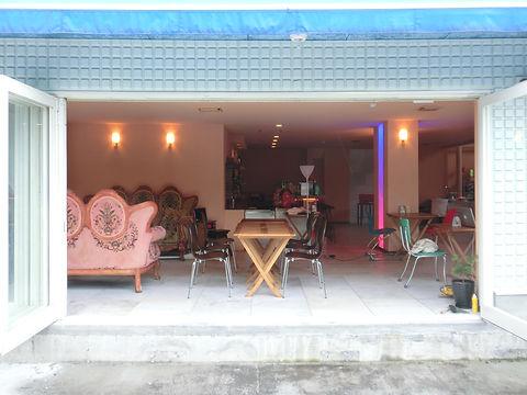 浅間高原ホテルのワンちゃんテラスからのカフェ&レストラン,