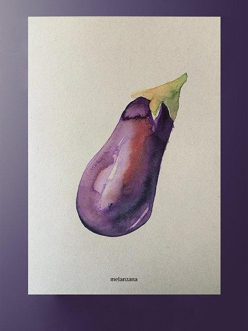 Plakat Aubergine