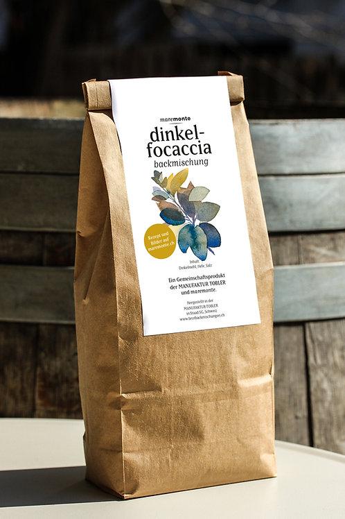 Dinkel-Focaccia-Backmischung