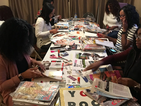 Design Your Life 2019 Virtual Vision Board Workshop
