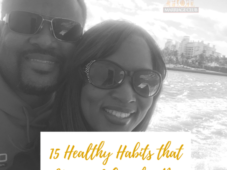 15 Healthy Habits that Married Couples Do