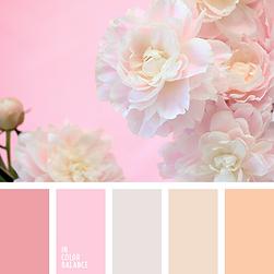 Цветовая палитра на свадьбу