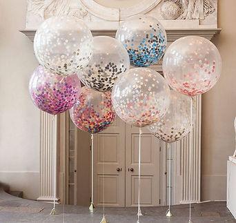 Фотозона с огромными шарами
