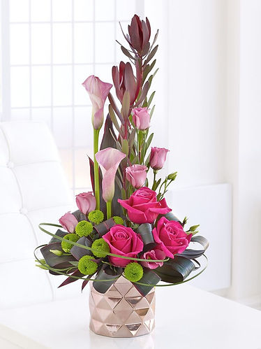 композиция из живых цветов купить
