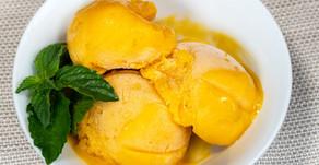 New Recipe: Vegan Creamy Mango Sorbet