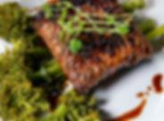 Vegan Smoky Tempeh Steak with Broccolini 