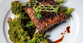 New Recipe: Vegan Smoky Tempeh Steak with Broccolini