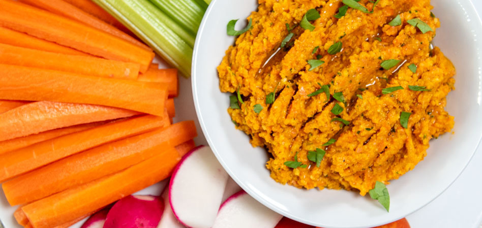 Vegan Smoky Carrot Dip