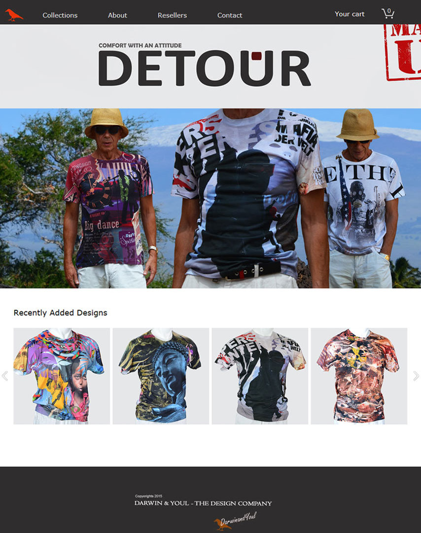 Detour website