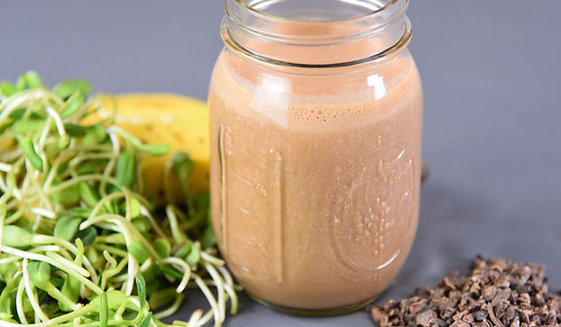Vegan Chocolate and Sprout Love Shake