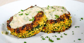 New Recipe: Millet Cakes with Spinach and Carrots